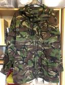 wo045 - original British Army DP Woodland camo windproof smock