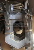 wo220 - 80 - NVA E-tool spade shovel grey carrier - Spatenhülle
