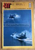 wz001 - NVA & Grenztruppen soldier magazine AR Armeerundschau from August 1977