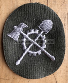 om460 - 5 - Kampfgruppen - Pioniere Engineers qualification sleeve patch