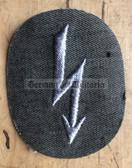 om461 - 3 - Kampfgruppen Nachrichten Signaller Troops qualification sleeve patch