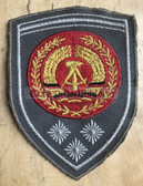om444 - NVA Army FAEHNRICH RANK SLEEVE PATCH - warrant officer - from 1974 to 1979 - 3 stars = more than 20 years service