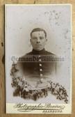 wpc535 - c1890s  Imperial German soldier photo - carte de visite CDV - from Saarburg in Lorraine