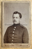 wpc537 - c1890s  Imperial German soldier photo - carte de visite CDV - from Riesa in Saxony