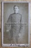 wpc540 - c1870s  Imperial German soldier photo - carte de visite CDV - from Berlin