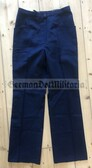 wo573 - Feuerwehr fire service female uniform trousers - size k82