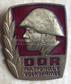 om533 - NVA Army Bester Badge with glass enamel - worn on uniforms