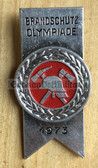oa032 - c1973 Feuerwehr fire service competition badge