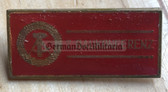 oa039 - 2 - delegate badge to the 7th Baukonferenz of the DDR - Building & Construction
