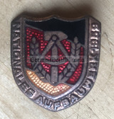 oa003 - c1959 dated NAW Nationales Aufbauwerk enamel honour badge in bronze