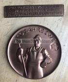 om626 - VEB Stahl und Walzwerk Brandenburg 10 years anniversary plaque set