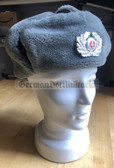 wo091 - Volkspolizei VP VoPo police Wachtmeister - non officer Winter Fur Cap Ushanka - different sizes available