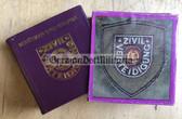ob032 - c1983 miniature photobook about the ZV Zivilverteidigung Civil Defence