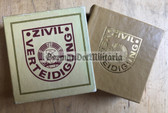 ob033 - c1988 miniature photobook about the ZV Zivilverteidigung Civil Defence