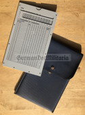 gw014 - NVA, Stasi and Volkspolizei PE (Sports) norms calculator and chart board in pouch