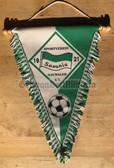 rp044 - East German Wimpel Pennant - Saxonia Nauwalde football club