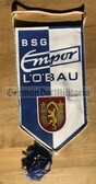 rp048 - East German Wimpel Pennant - BSG Empor Loebau sports club
