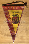 rp049 - East German Wimpel Pennant - ASG Loebau sports club of the NVA Officer College