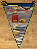 rp054 - East German Wimpel Pennant - Baltic Sea holiday resort sports