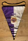 rp058 - East German Wimpel Pennant - TSG Tettau sports club