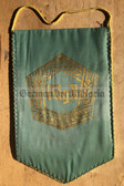 rp072 - East German Wimpel Pennant - VDGB Farmers Organisation