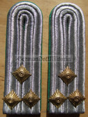 sbgt023 - 3 - OBERLEUTNANT DER GT - Grenztruppen - Border Guards - pair of shoulder boards