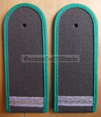sbgtx002 - 14 - GEFREITER - Grenztruppen - Garbadine Berlin Border Guards & Border Crossings only - pair of shoulder boards - 2x rp0