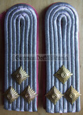 sblap023 - 2 - OBERLEUTNANT - Panzertruppen - Tank Service - pair of shoulder boards
