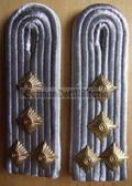 sblaw024 - 2 - HAUPTMANN - Infanterie - Infantry - pair of shoulder boards