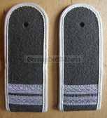sblawx003 - STABSGEFREITER  - from early 1970's - INFANTERIE - Army Infantry - pair of shoulder boards