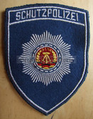sbtp037 - 5 - SCHUTZPOLIZEI SLEEVE PATCH - Transportpolizei TraPo - Transport Police - for jackets