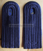 sbtpfd001 - FELDDIENST ANWAERTER DER TP - Transportpolizei TraPo - Transport Police - pair of shoulder boards