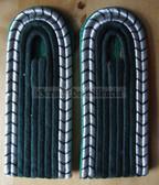 sbvp003 - 4 - UNTERWACHTMEISTER DER VP - Volkspolizei - Police - pair of shoulder boards