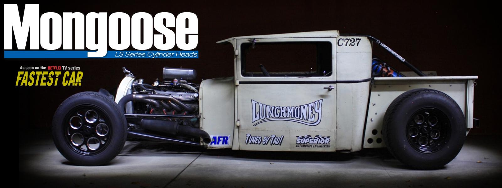 LSX - Mongoose High Performance Cylinder Heads