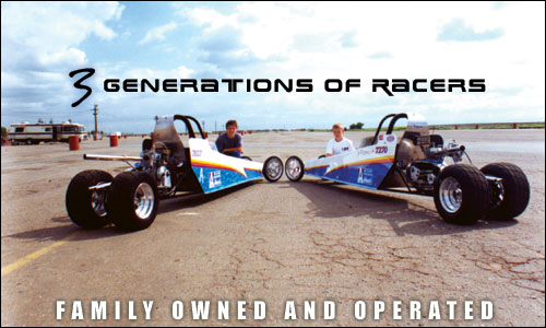 3 Generations of Racing