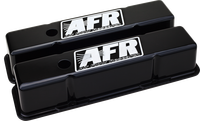 AFR 6705 - SBC Tall Black Powder Coat Valve Covers
