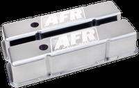 AFR 6704 - SBC Tall Polished Aluminum Valve Covers