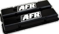 AFR 6707 - SBC Standard Black Powder Coat Valve Covers