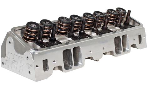 220cc SBC Race Cylinder Head - Air Flow Research