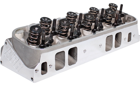 345cc BBC Rectangle Port Cylinder Head - Air Flow Research
