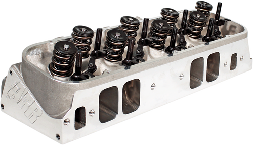 385cc BBC Rectangle Port Cylinder Head - Air Flow Research