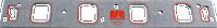 AFR BB Ford Intake Gasket For 270cc, 285cc, & 300cc
