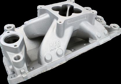 SBC Eliminator Race Single Plane Aluminum 4150 Intake Manifold