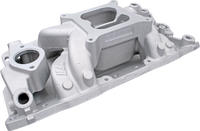 SBC Eliminator Dual Plane Aluminum 4150 Intake Manifold