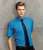 Men's Short Sleeve Poplin Shirt -Premier PR202