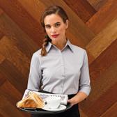 ecc0886d Ladies Continental Blouse (3/4 Sleeve) Kustom Kit K715 - Direct Workwear