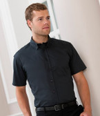 Short Sleeve Classic Twill Shirt Russell Collection 917M