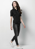 Ladies Bar Shirt Short Sleeve K735