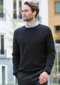 Henbury Lightweight Crew Neck Sweater - H725