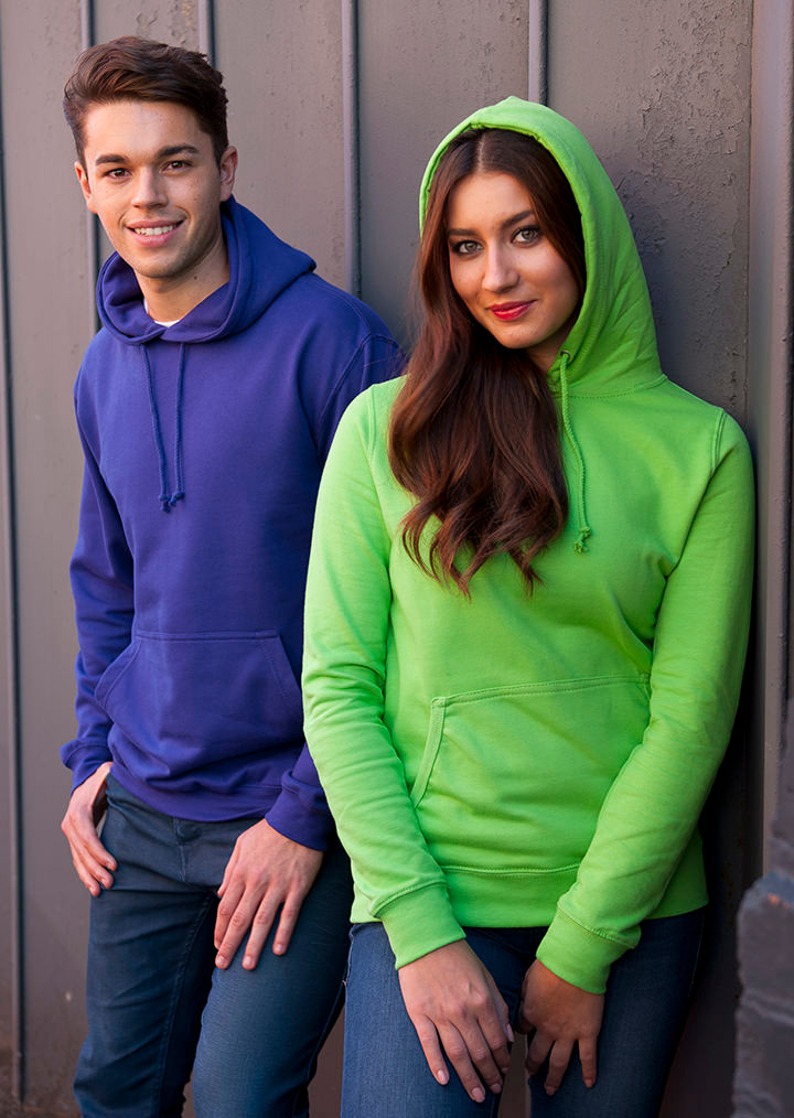 d924e42f Personalised Hoodies - Just Hoods Hoodie in 50 Colours with print or ...